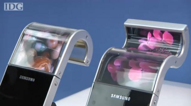 Zu den Flexiblen Displays kommt jetzt auch ein flexibler Akku.