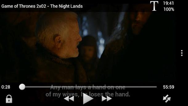 Filme lassen sich mit dem VLC Player für Android sogar mit Untertitel darstellen. Foto: videolan.org.