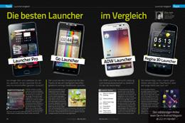 Launcher im Vergleich (2/4 Seiten)