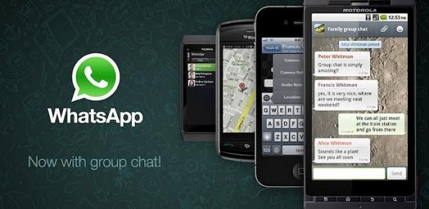 Der WhatsApp Messenger ermöglicht das kostenlose versenden von Nachrichten über die Internetverbindung.