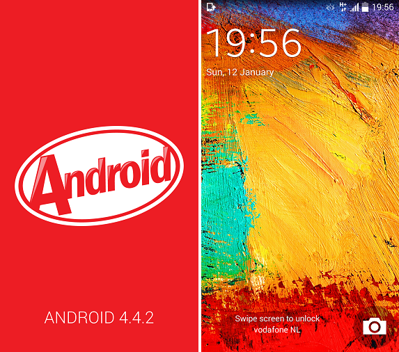 Android 4.4 note 3