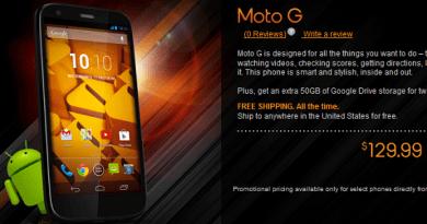 Moto G Boost mobile