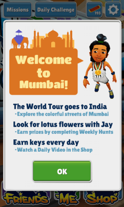 Subway Surfers Mumbai Jay