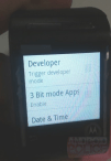 Google Motorola Smartwatch GEM Display