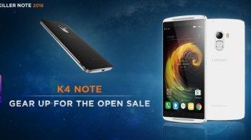 Lenovo K4 Note Open Sale