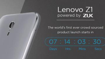 Lenovo Z1 India launch