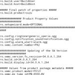 XPERIA X F5121 34.0.A.1.264 system dump