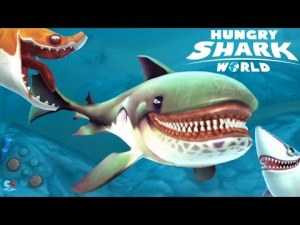 Hungry Shark World MOD APK+DATA 0.8.0 terbaru 2016