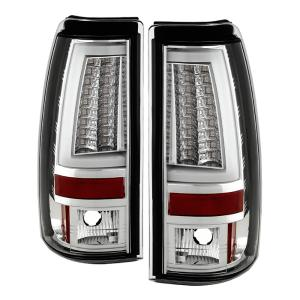 GMC Sierra Tail lights at Andy s Auto Sport Chevy Silverado 1500 2500 99 02  Not Fit Stepside   GMC Sierra      Version 2  LED Tail Lights