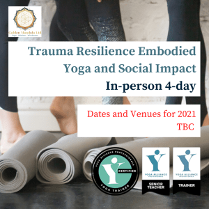 trauma informed yoga, yoga teacher training,
