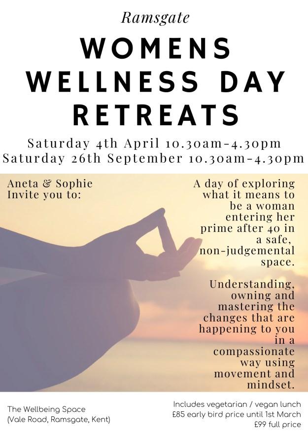 women's wellness retreat, ramsgate