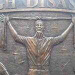 The Hillsborough memorial in Liverpool city centre