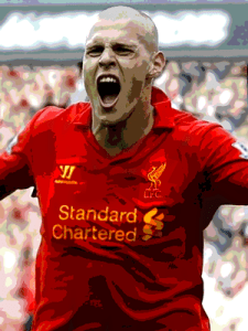 Skrtel scored the opener but was at fault for the second equaliser