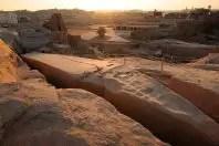 El obelisco inacabado de Asuán