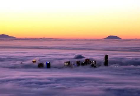 Niebla de Vancouver
