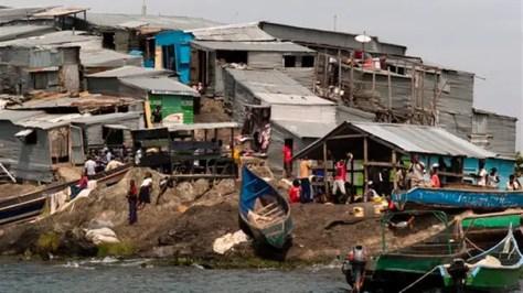 Migingo la isla mas superpoblada del mundo