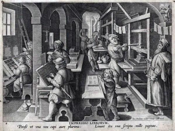 Nova Reperta - La imprenta de Stadano