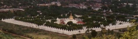 Vista aérea de Kuthodaw