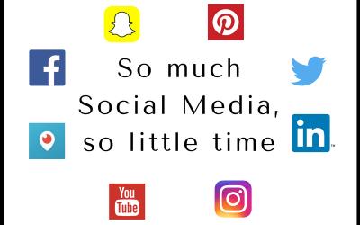 So much social media, so little time