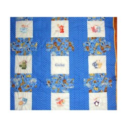 Joyous Character Blankets Embroidered Fleece Blanket Moms Blankets Hand Made Reverisble Baby Embroidered Fleece Personalized Fleece Blankets Boys Swimming Fireman Personalized Fleece Blankets