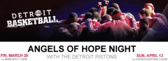 Detroit Pistons host Angels of Hope Night
