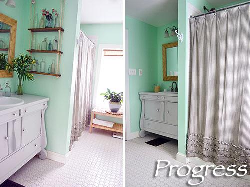 Bathroom Progress Take 8