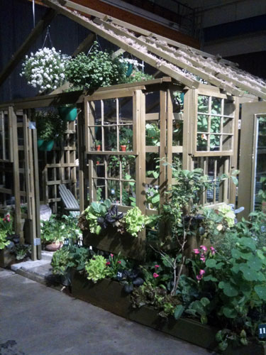 Garden House Display