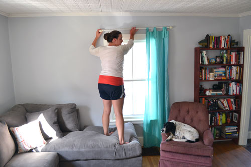 Measuring Curtain Height Placement