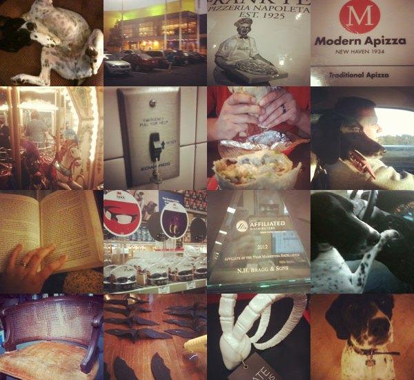 October Instagram Collage