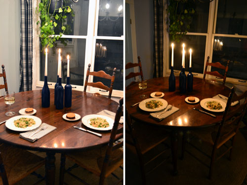 Valentine's Day Dinner By Candlelight