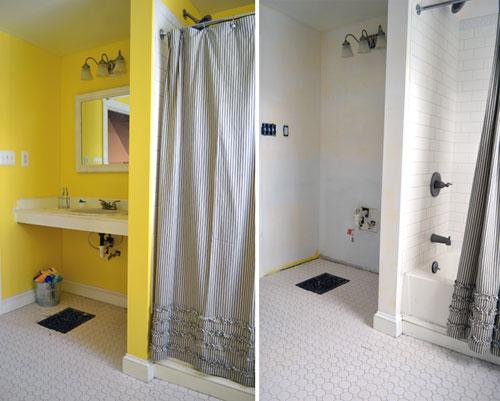 Bathroom Vanity Removal And Priming