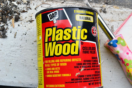 Repairing Damaged Wood