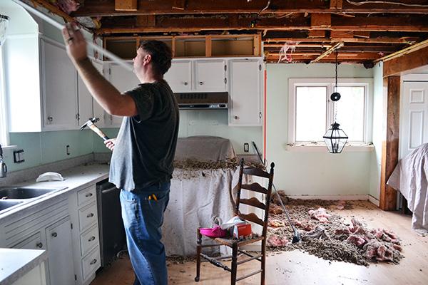 Kitchen Remodel Gutting