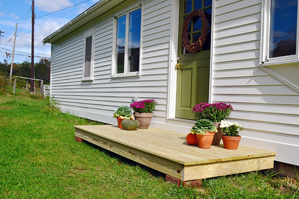 Building A Back Entry Stoop