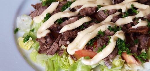 Beef Kebab Salad
