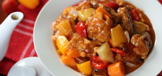 Sweet and Sour Pork Wide