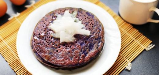 Ube Pancake Wide