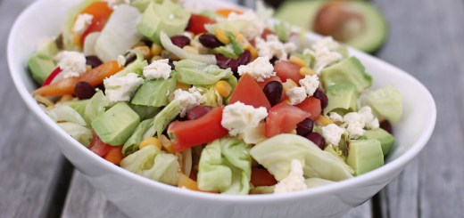 Mexican Chopped Salad Wide