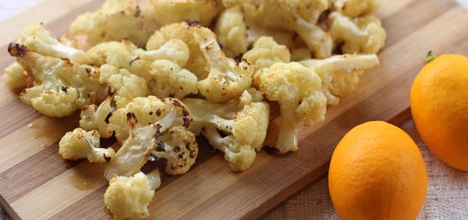 Roasted Garlic Cauliflower Wide