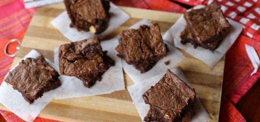 Three Ingredient Nutella Brownies Wide
