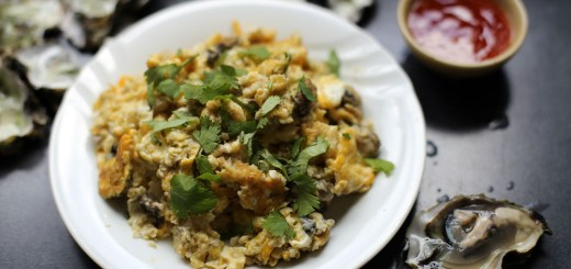 Oyster Omelette Wide