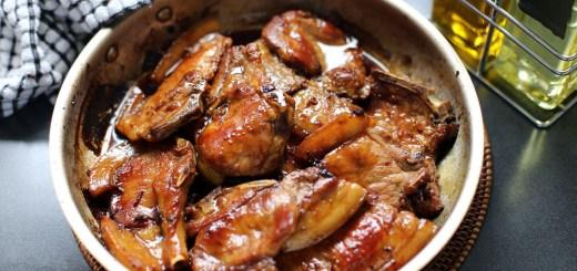 Sticky Pork Chops Wide