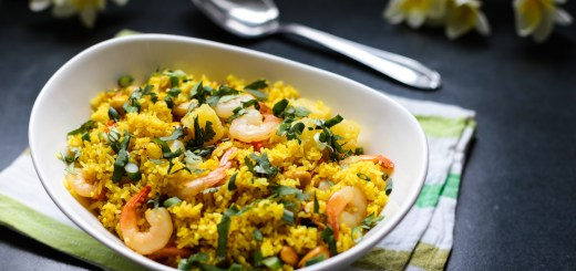 Pineapple Fried Rice Wide
