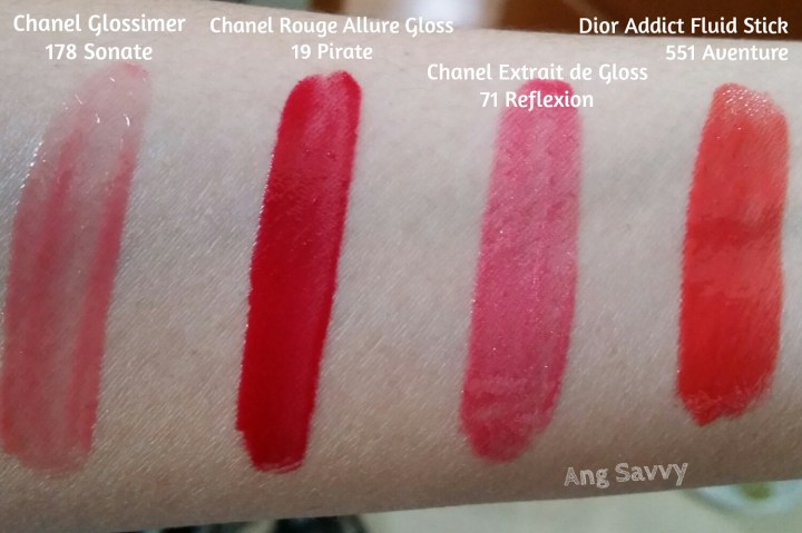 Chanel Rouge Allure Gloss Sensuel Chanel Rouge Allure Gloss 19