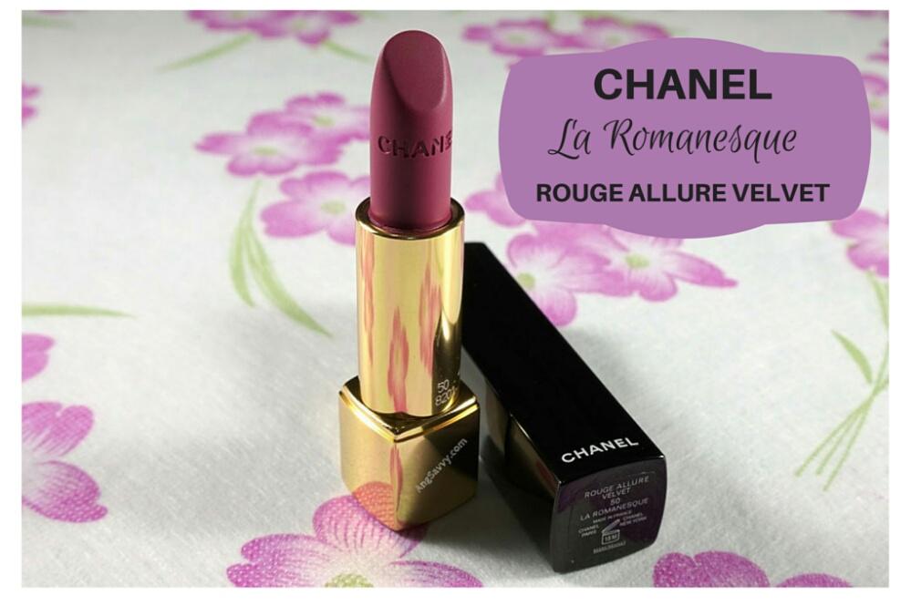 Chanel Rouge Allure Velvet 50 Chanel Rouge Allure Velvet in