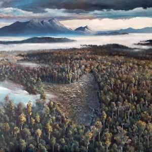 Upper Florentine Valley- Installation Art (86 x 176 cm) $5800