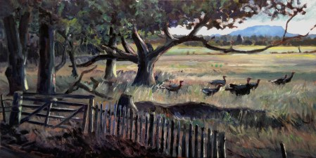Wild Turkey, Woolmers Lane - $850 (SOLD)