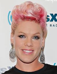 pink hair color chalk