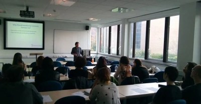 Animal Ethics talk at the University of Reading.