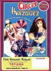 Circus Vazquez poster.